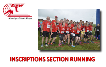 Inscriptions section running 2019-2020